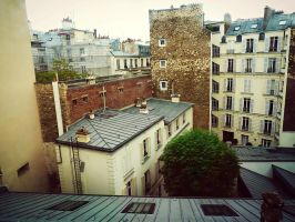 Paris Rooftops by xXCold-FireXx