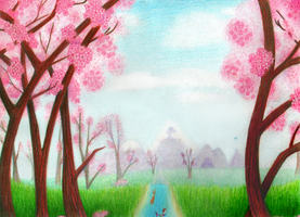 Valley of the Blossoms by OtakuRose