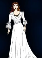 POTO dressing gown by Selinelle