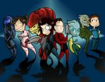 Mass Effect Chibis by poly-m