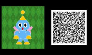 Freakyforms: Neutral Chao QR Code by nintendolover2010