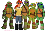 Five. by TMNTISLOVE