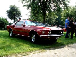 Ford Mustang III by chevynovagirl