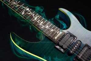 Flames Ibanez by Sloorth