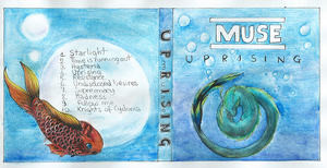 Muse - Album cover by Auphelith