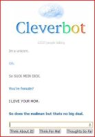 CLeverbot....WHY by ThePrussianFlag