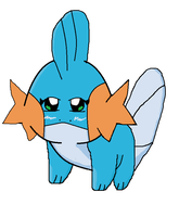 Rose the Mudkip -first attempt at Mudkip- by koda-kuma