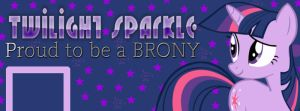 Twilight Sparkle Facebook Cover by AceofPonies