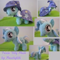 The Great Trixie Filly Plush by Peachykiki