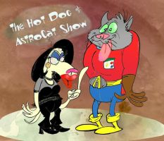 The Hot Dog and AstroCat Show by Granitoons