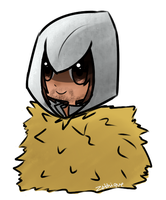 Commission: Ezio + hay = BFF5ever by Jhordee