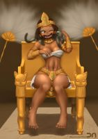 League of Legends - Pharaoh Nindalee by Nestkeeper