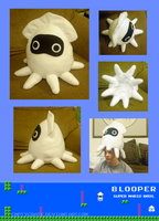 Blooper :plush hat: by EmptyCrate
