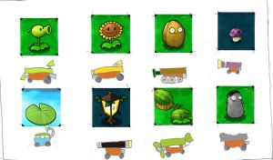 Plants vs. Zombies pot racing by con1011