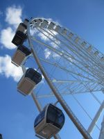 Seattle Waterfront - Ferris Wheel by breannemarie