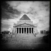 Shrine of Remembrance by aviel08