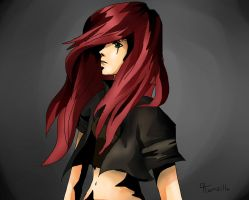 Katarina- League of Legends by Hamzilla15
