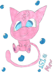 Chibi Mew by HyperactiveChaosgirl