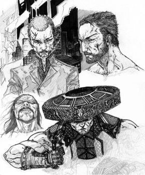 081612 Sketches by anthonyharrisart