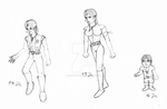 Star Wars Female Character by HarryWatson