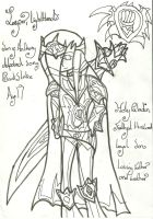 Jasper LightHand: Uncoloured by xxxBrokenSoulxxx