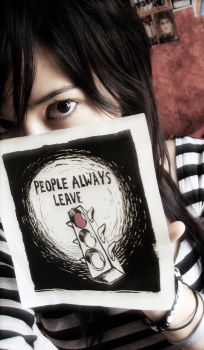 People Always Leave - photo. by X-thedarkartist-X
