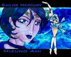 Sailor Mercury by racookie3