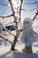 PaperChild Fairy and Hoarfrost by ryu-yo