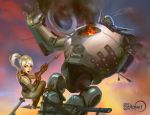 Clockwork Giant Defeat by anotherdamian