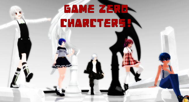 Game Zero-characters! by amyolimpet