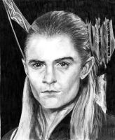 Legolas Greenleaf Portrait by koko-kaipo