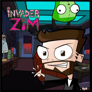 Invader Zim by RAZIELTAMER