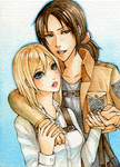 Ymir x Christa by Hachiyo