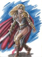 Lady Pendragon by ClubMadness