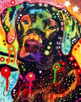 BLACK LAB by deanrussoart