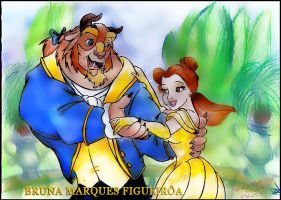 Beauty and the Beast by Brunamf