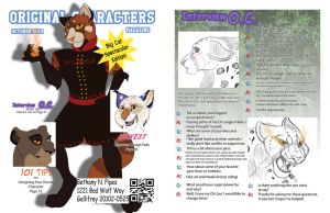 Original Characters Magazine by EireannWolf