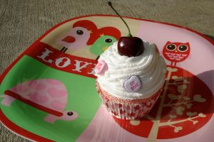 Real Fake cupcake Love by MotherMayIjewelry