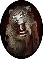 Neopets: Sorrowful Portrait III by Blesses