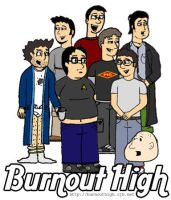 Burnout High Group Photo by agcm
