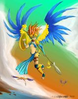 Aves Warrior: Macaw by BaGgY666