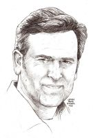 BRUCE CAMPBELL in 40 mins by MalevolentNate