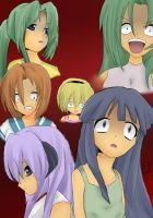 Higurashi group by Hanamio-chan