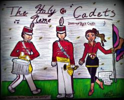 The Holy Name Cadets by SailorMoon190