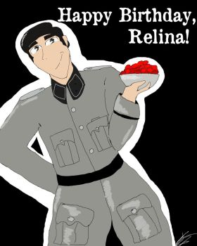 Happy Birthday Relina-ru!!!! by C-E-Smith
