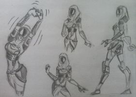 sketches Tali (34) by spaceMAXmarine