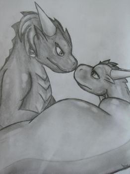 dragons love by lizardlars
