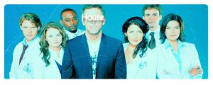 House M.D cast banner by LaLaShivers