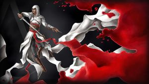 Assassin's Creed Wallpaper - Altair by ciacheczko