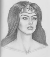 Portrait of a Wonder Woman by MattSimas